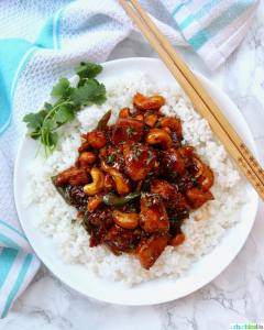 Instant Pot Cashew Chicken