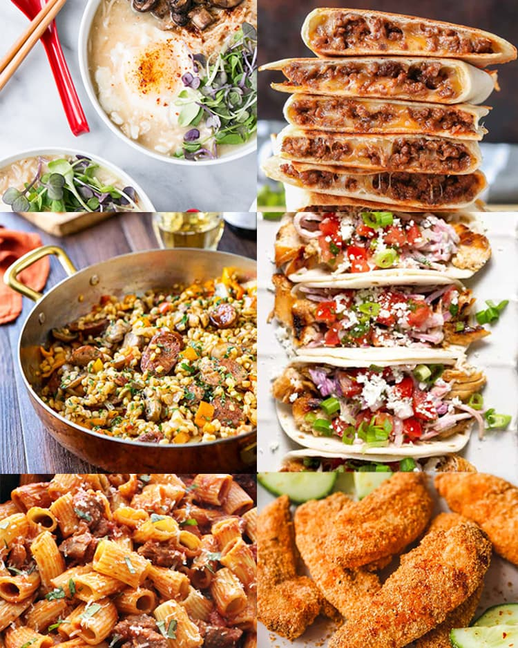 family-friendly 30-minute meals