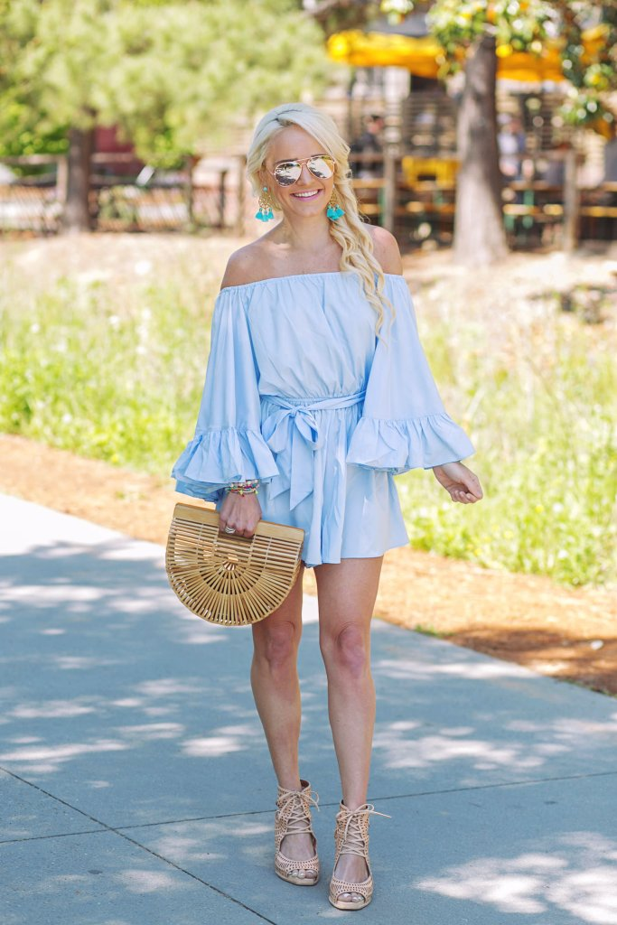bell-sleeve-off-the-shoulder-romper-chicwish
