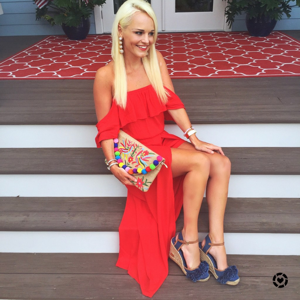 red-romper-maxi-dress-4th-of-july