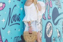 bell-sleeve-white-chicwish-top-denim-skirt