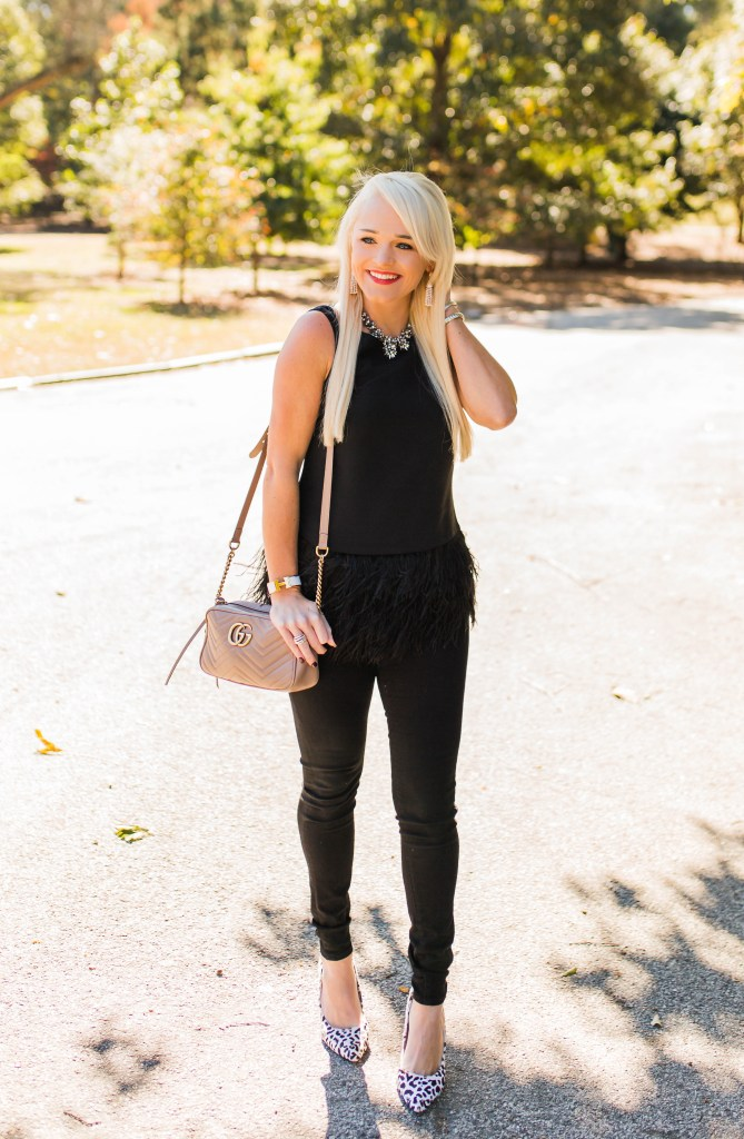 casual-holiday-look-fashion-fringe-top-leopard-heels