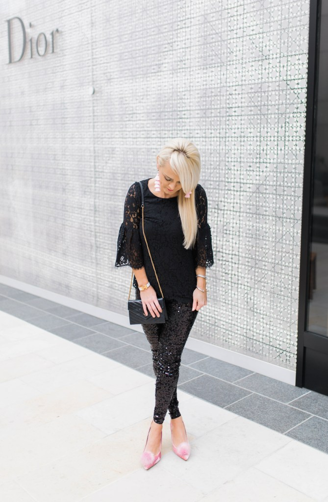 holiday-glam-in-sequins-and-lace-sparkle-pom-pumps