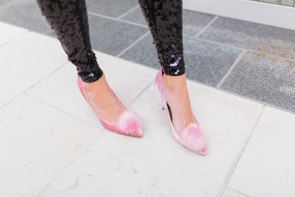 holiday-glam-in-sequins-and-lace-sam-edelman-velvet-pom-heels
