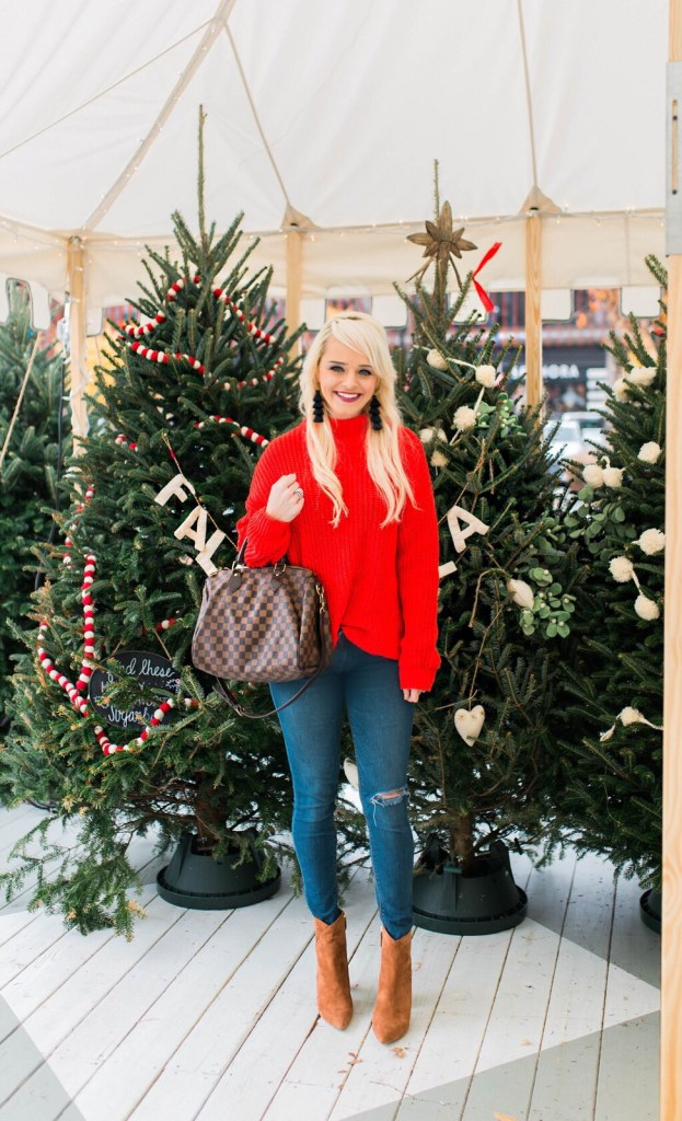 red-sweater-for-the-holidays-style-2017-christmas-trees