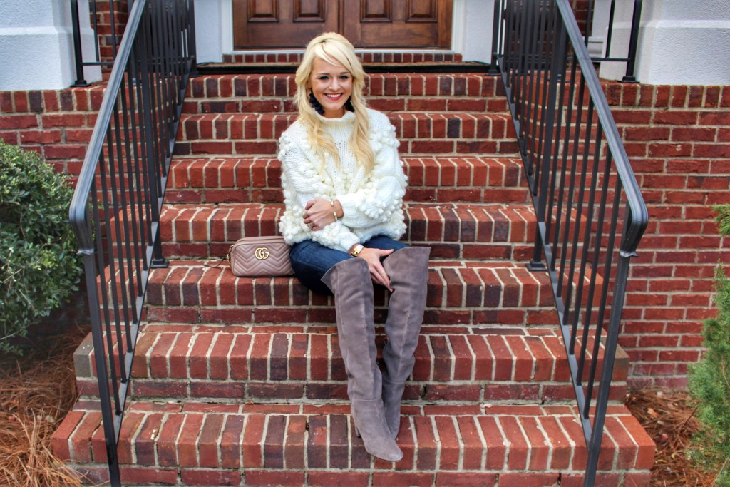 pom-pom-sweater-chicwish-boots-urban-blonde-fashion-blogger-atlanta-winter-style