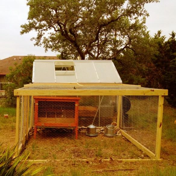 Miranda Lowry's Chicken Coop in Texas