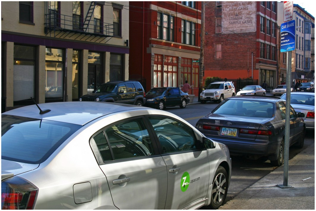 Zipcar in Over-the-Rhine [Randy Simes]