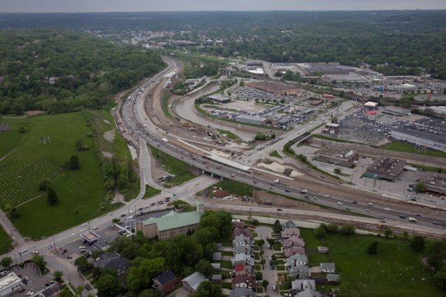 I-75 Construction Work at Mitchell Avenue [Jake Mecklenborg]