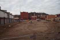 Construction Work at the Maintenance & Operations Facility on 12/1/2013