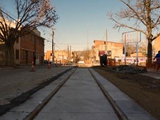 Cincinnati Streetcar Tracks (December 2013)