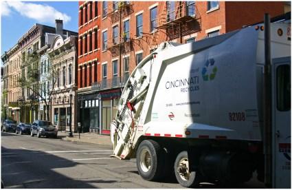 Cincinnati Recycling Truck
