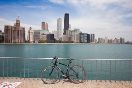 Chicago and Lake Michigan [Jake Mecklenborg]