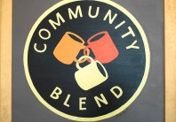 Community Blend Logo [Drew Baugh]