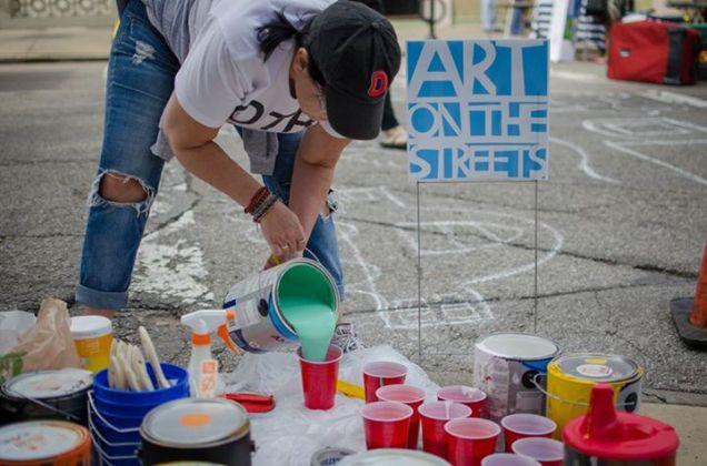 Crosswalk Painting at SSOM [Provided]