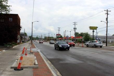 High Street Construction Work [David A. Emery]