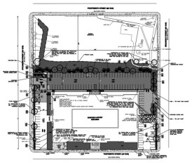 Alumni Lofts Site Plan [Provided]