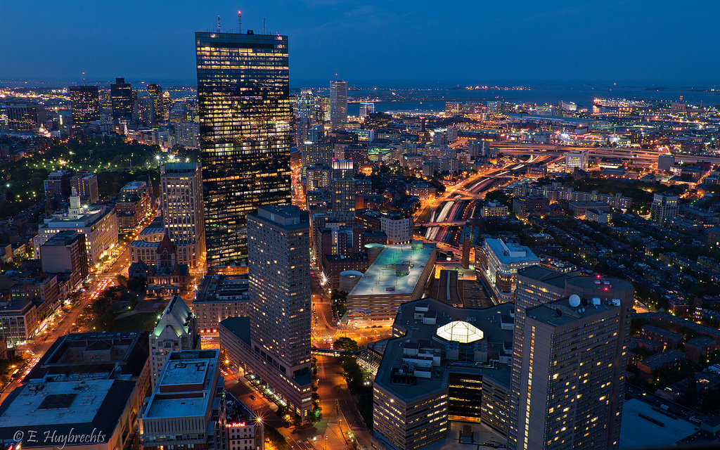 Yes, Boston is actually a bigger city than Indianapolis [Emmanuel Huybrechts, Flickr]