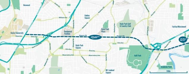 Wasson Way Map [Provided]