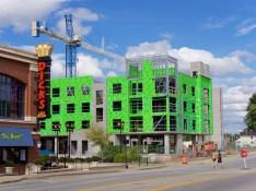 Aqua on the Levee Construction 3