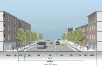 Brewery District vision for Liberty Street