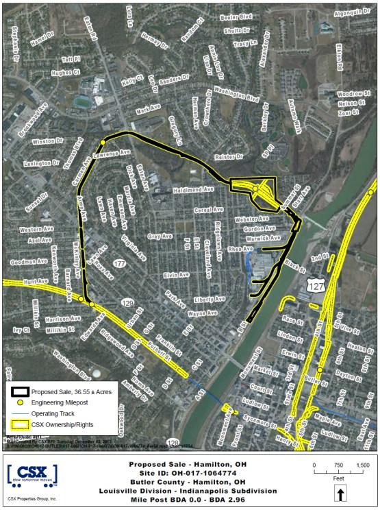 Proposed CSX Sale for Hamilton Beltline [Provided]