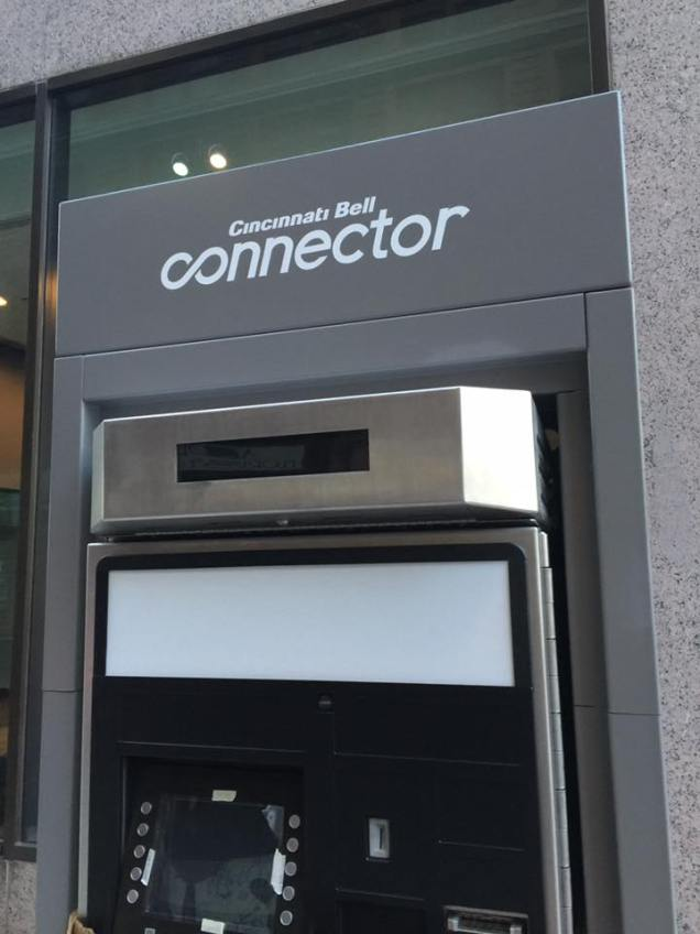 Cincinnati Bell Connector Ticket Kiosk