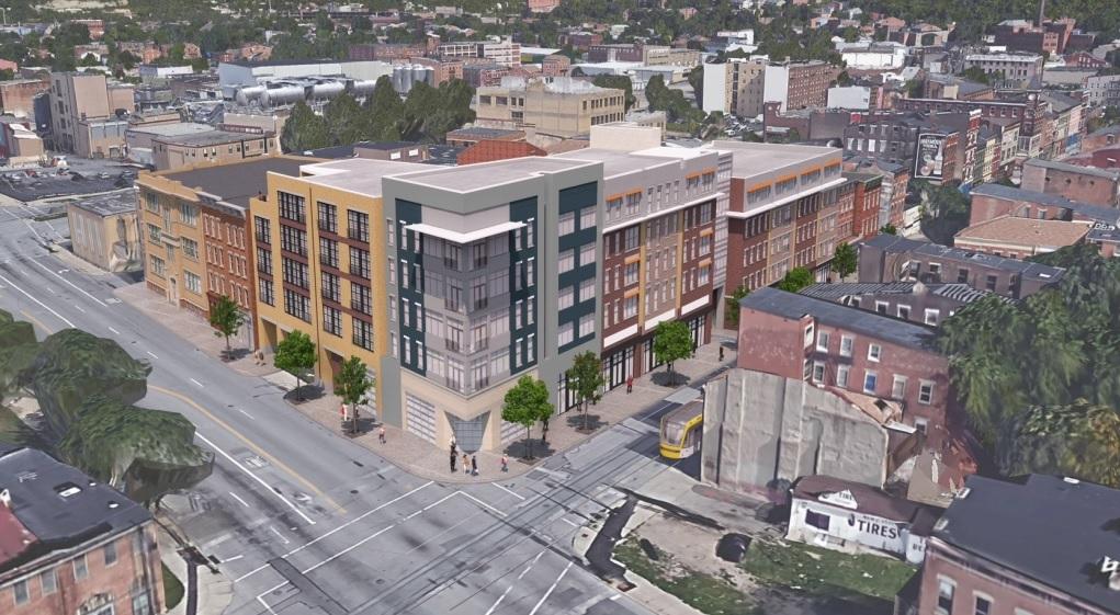 Rendering of $25M Freeport Row Development [Provided]