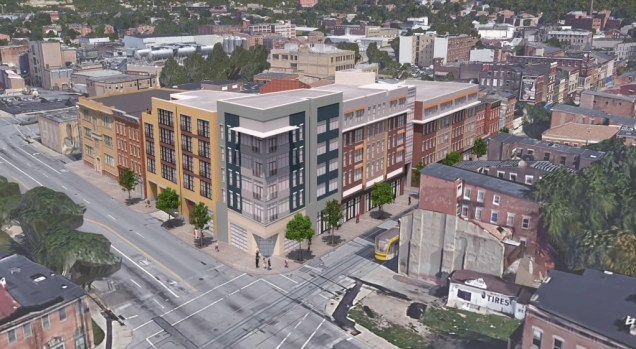 Rendering of $25M Freeport Row Development [Provided]