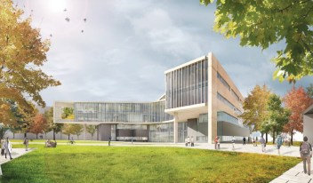 NE View of Health Sciences Building [Provided]