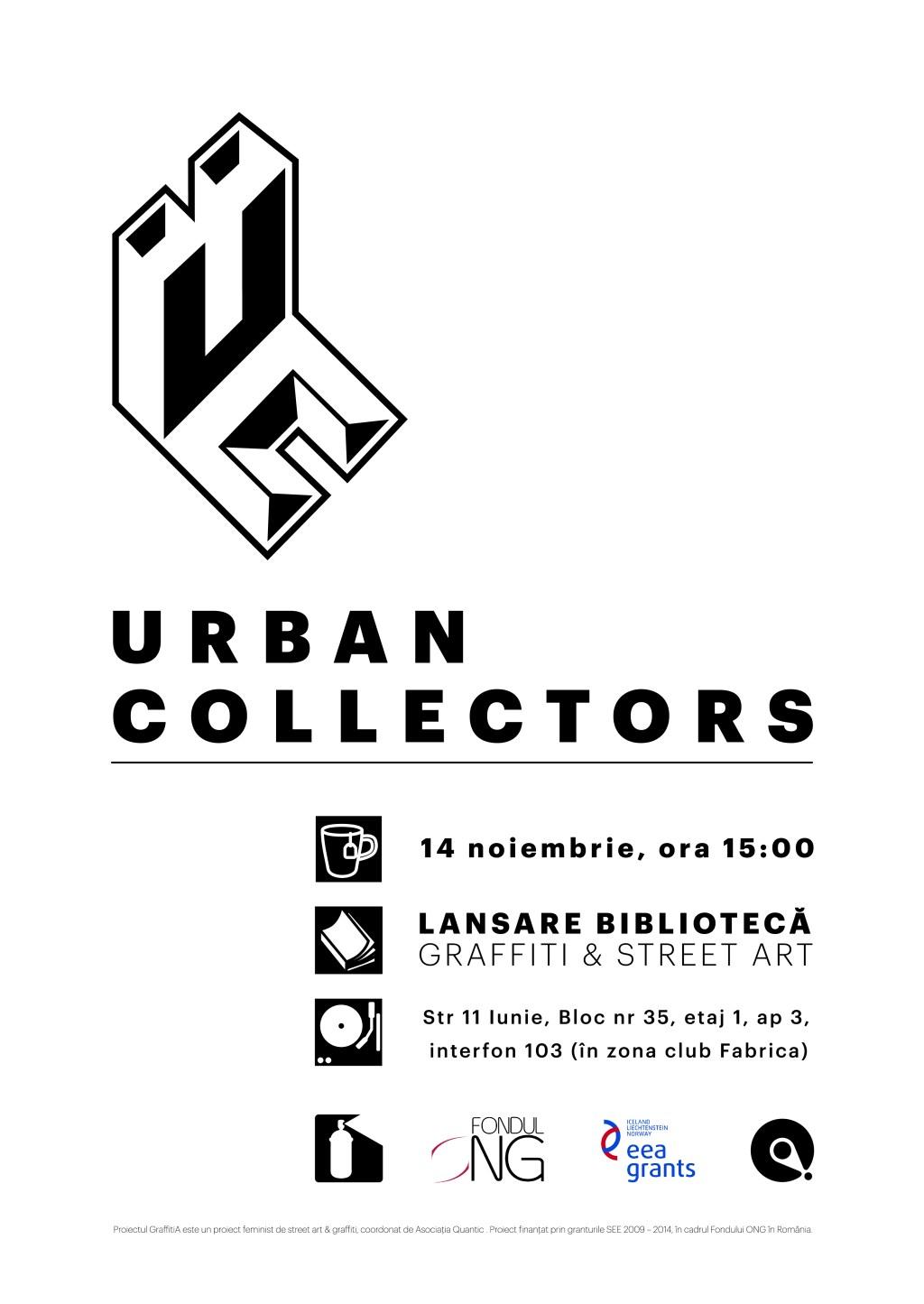 Quantic deschide Biblioteca de graffiti & street art