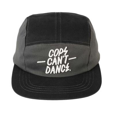 Cops can't dance cap grey