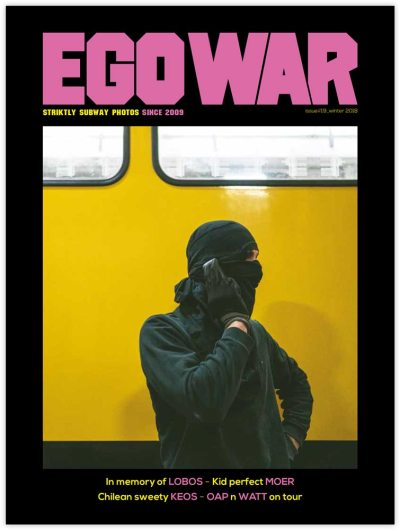 Egowar #19 magazine