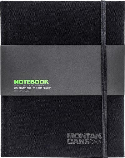 Montana Pocket Blackbook book 18×14 cm