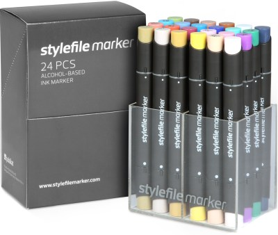 Stylefile Marker 24 pcs set Main B