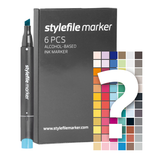 Stylefile Marker set Try Out