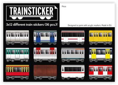 Train sticker