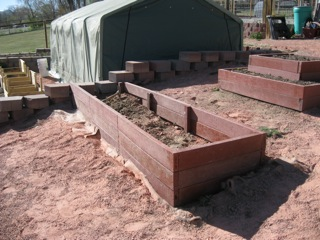 Building Raised Bed Garden Boxes Using Recycled Plastic  Video