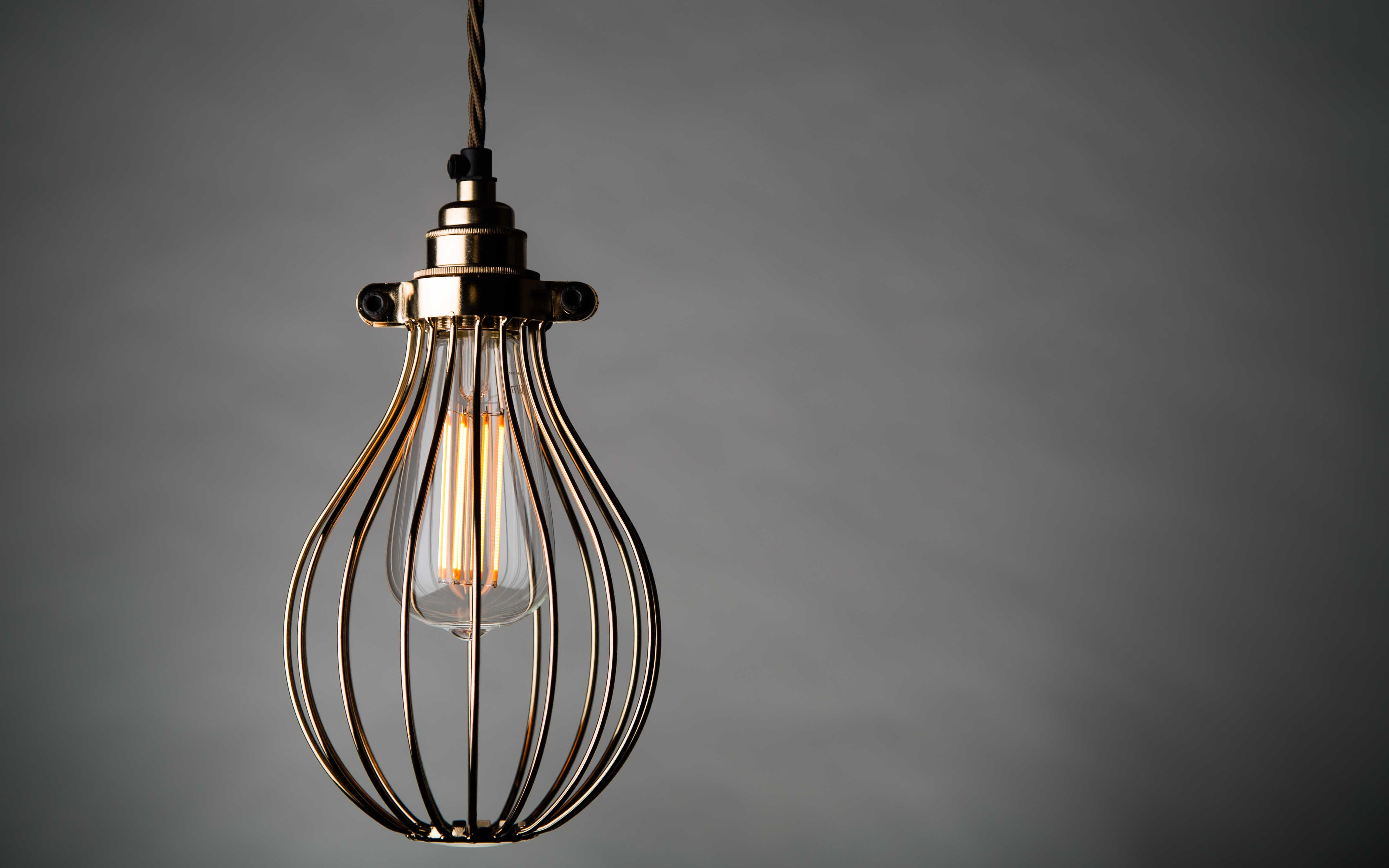why we love wire cage pendant lighting