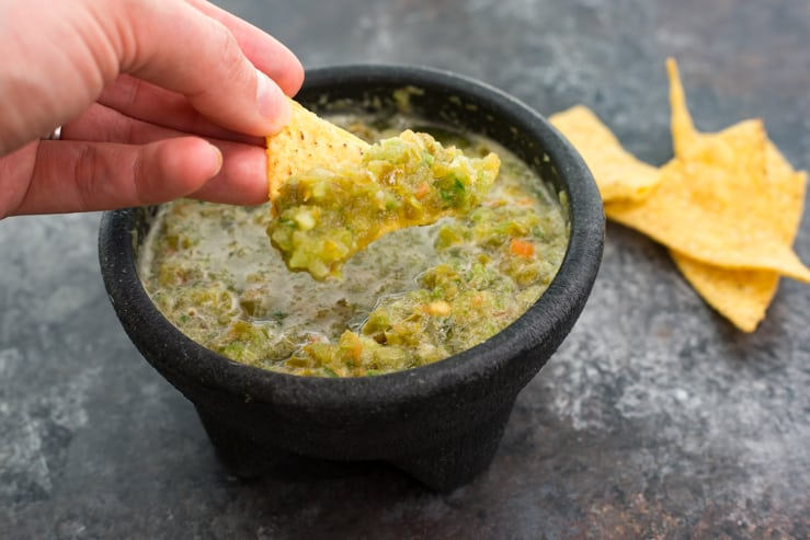 Green Salsa From Candlelite Inn - A favorite recipe in Texas