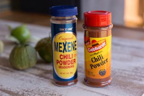 Bison chili - Texas chili powders