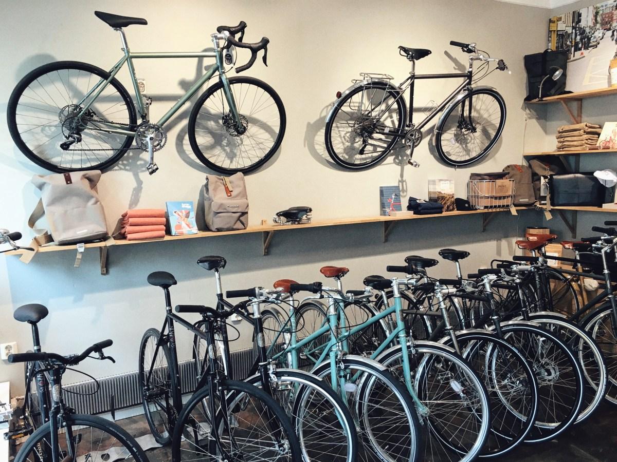 Pelago cykelbutik i Helsingfors - så ska en butik se ut!