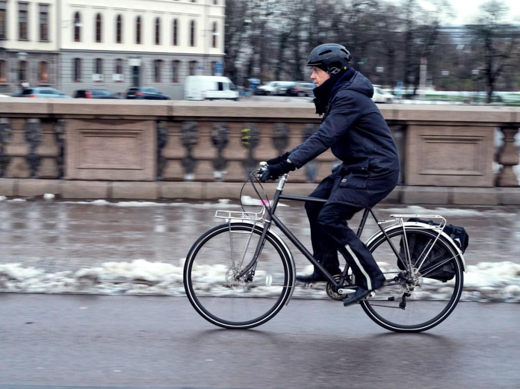 cykelkläder på vintern
