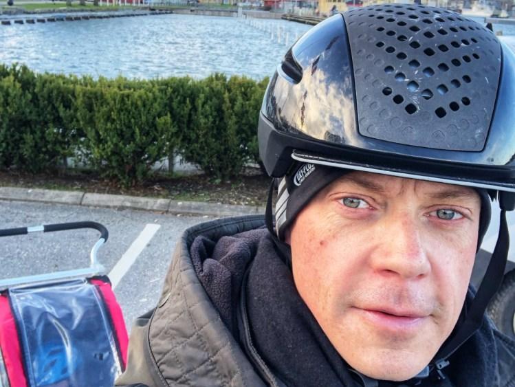 Urban Cyclist med vagn
