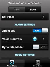 Appli Réveil iPhone