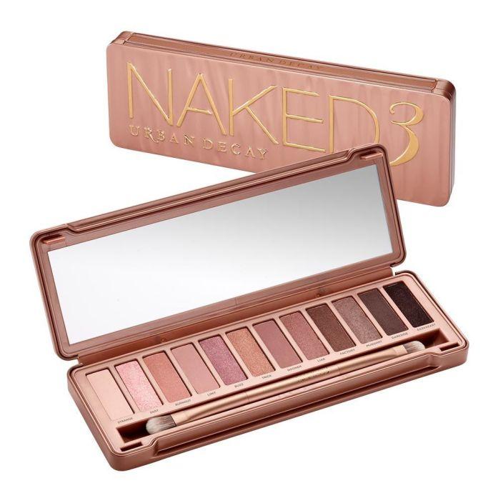 Naked3 Eyeshadow Palette | Nude-Pink Natural Eyeshadows | Urban ...
