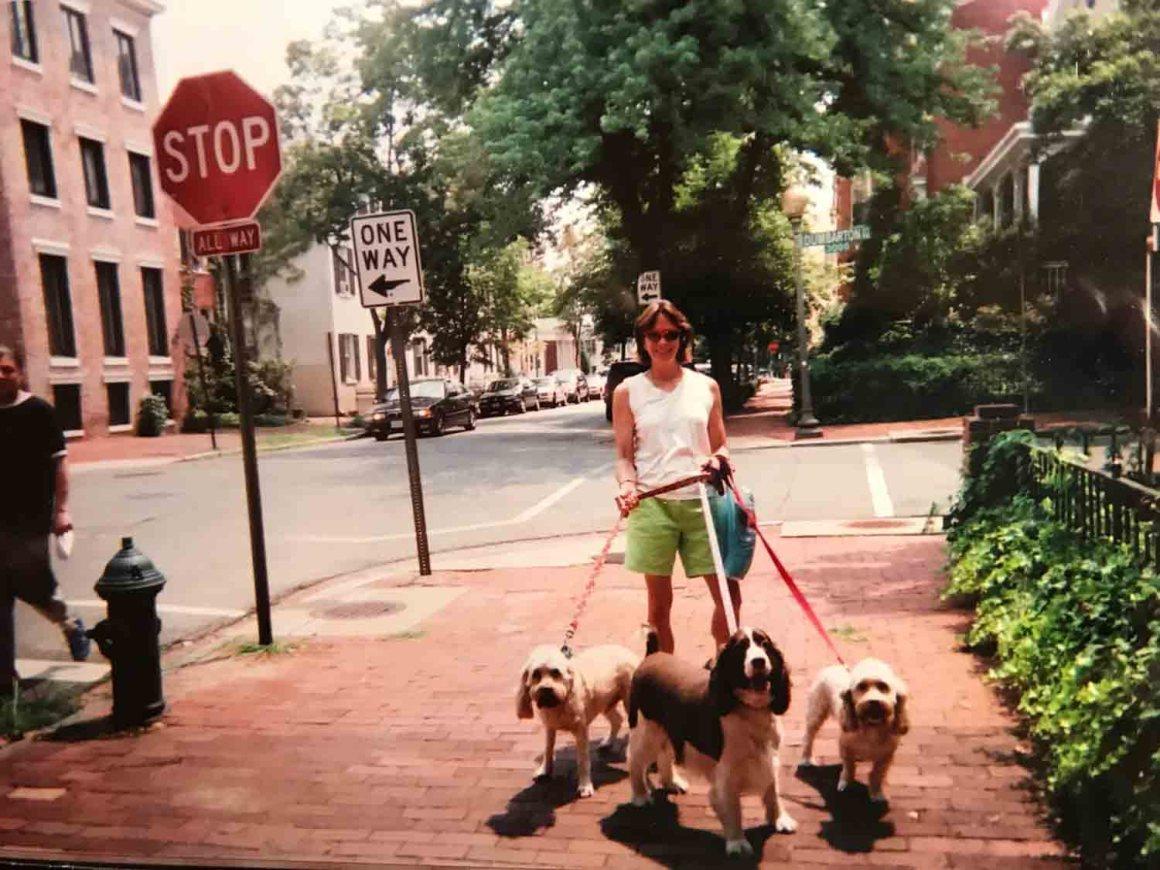 Dog Walker Extraordinaire Christine Nassikas in Washington DC