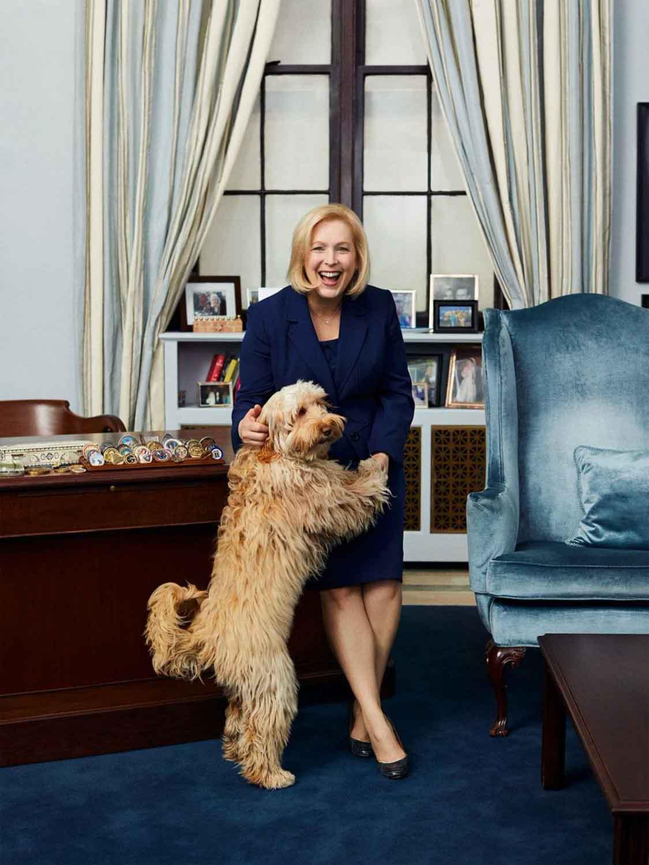 Senator Gillibrand and Maple