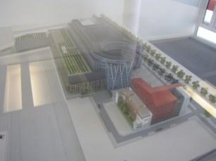 Maquette Projet Okabé avec la Future Médiathèque !