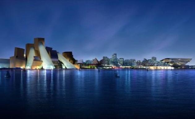Musée Guggenheim - Abu Dhabi par Franck Gehry